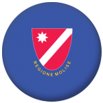 Molise Flag 58mm Button Badge